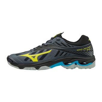 Zapatillas hombre WAVE LIGHTNING Z4 ombre blue/safety yellow/black