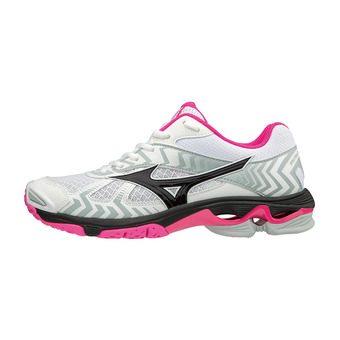Zapatillas mujer WAVE BOLT 7 white/black/pink glo