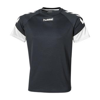 Camiseta hombre CHEVRONS negro/blanco