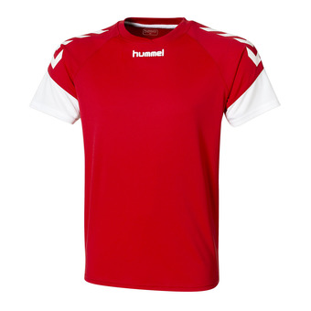Hummel CHEVRONS - Maillot Homme rouge/blanc