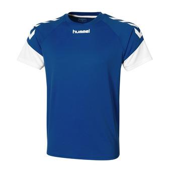 Hummel CHEVRONS - Camiseta hombre royal/white