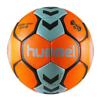 Hummel SENSE GRIP CLUB - Balón de balonmano orange vif/grey