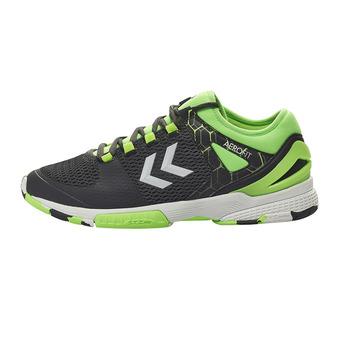 Chaussures handball homme AERO HB200 2.0 asphalte/citron
