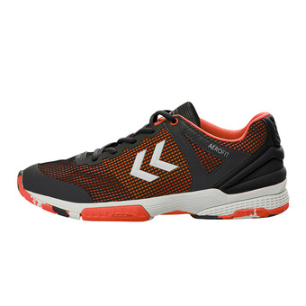 Chaussures handball homme AERO HB180 2.0 fantôme/rouge festif