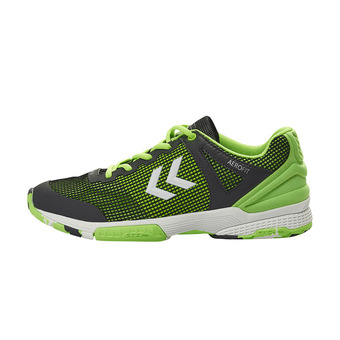 Chaussures handball homme AERO HB180 2.0 asphalte/citron