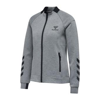 Sweat zippé femme CLIO gris