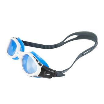 Gafas de natación FUTURA BIOFUSE FLEXISEAL white/blue