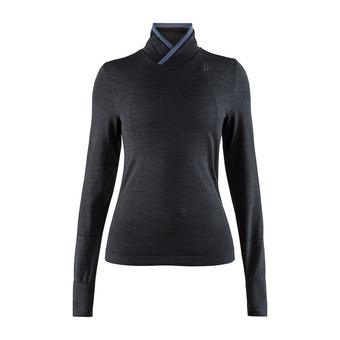 Craft FUSEKNIT COMFORT WRAP - Camiseta térmica mujer black