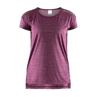 Camiseta mujer NRGY cereza