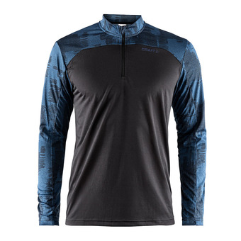 Camiseta hombre EAZE negro/marítimo
