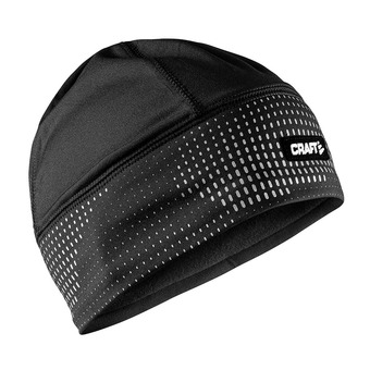 Gorro de running BRILLIANT 2.0 negro/reflectante
