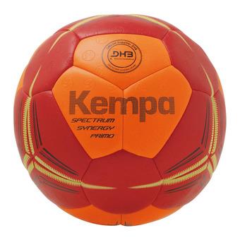 Kempa SPECTRUM SYNERGY PRIMO - Pallone da pallamano arancione fluo/rosso profondo