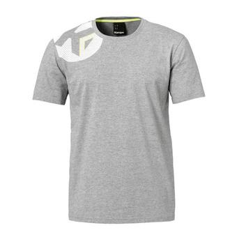 Kempa CORE 2.0 - Tee-shirt Homme gris foncé chiné