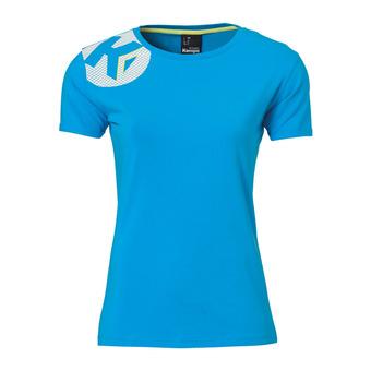 Tee-shirt MC femme CORE 2.0 bleu kempa