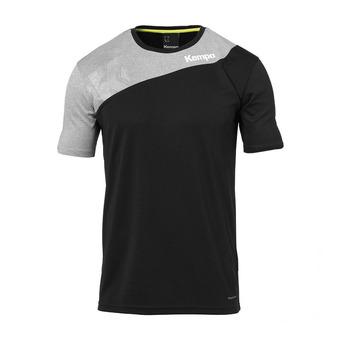 Camiseta hombre CORE 2.0 negro/gris oscuro jaspeado