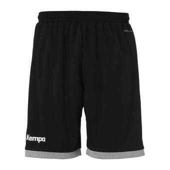 Kempa CORE 2.0 - Short Homme noir/gris foncé chiné