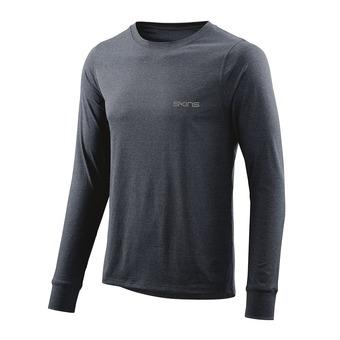 Skins ACTIVEWEAR BERGMAR - Camiseta hombre navy blue marle