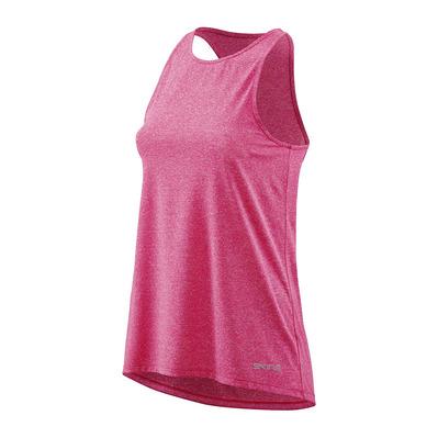3f7bc73ede2b5 SKINS Activewear Siken Womens Tank Top Pink Marle Femme Pink Marle ...