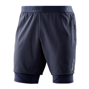 Short 2 en 1 hombre SUPERPOSE DNAMIC navy blue