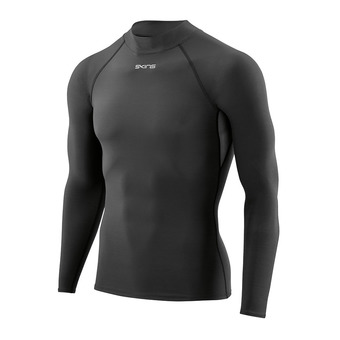 Maillot ML homme DNAMIC FORCE THERMAL MOCK black
