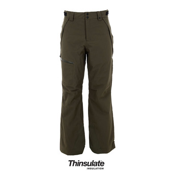 Pantalón de esquí hombre SKI INSUL 10K 2L dark brush