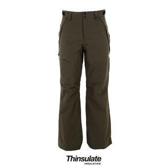 Pantalon de ski homme SKI INSUL 10K 2L dark brush