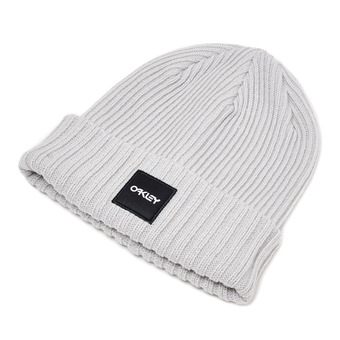Bonnet RIBBED light grey