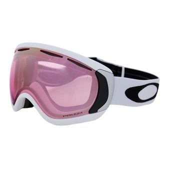 Oakley CANOPY - Masque ski matte white/prizm hi pink