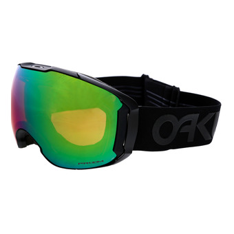Gafas de esquí/snow + pantalla suplementaria AIRBRAKE XL factory pilot blackout/prizm jade iridium & prizm rose