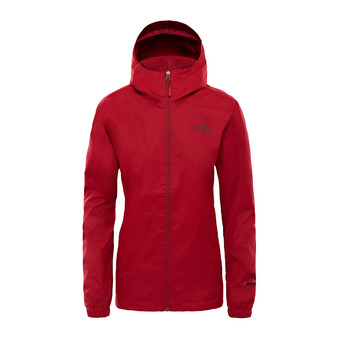 The North Face QUEST - Chaqueta mujer rumba red