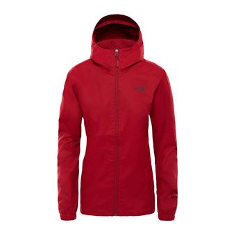 Veste à capuche femme QUEST rumba red