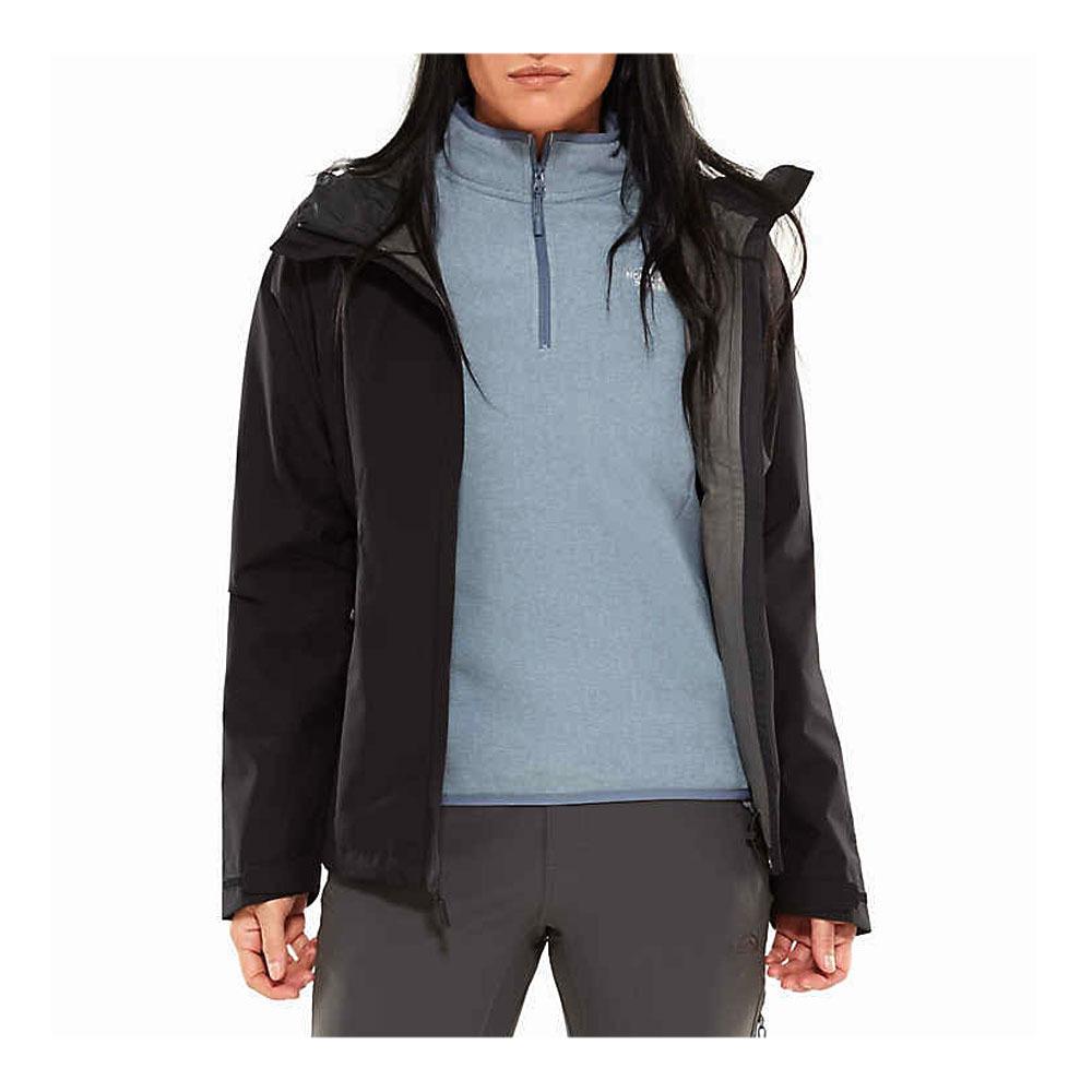 Gore À Dryzzle Tnf Shop Private Tex® Femme Veste Black Capuche Sport BpWqS7E