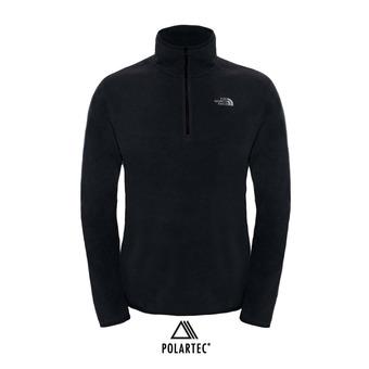 The North Face 100 GLACIER - Pile Uomo tnf black