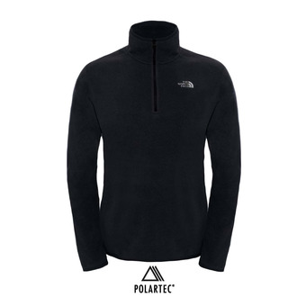 The North Face 100 GLACIER - Polar hombre tnf black