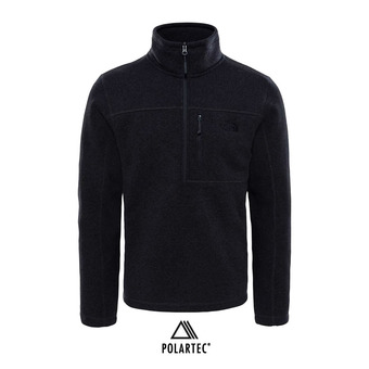 Polaire 1/4 zippé homme GORDON LYONS tnf dark grey heather