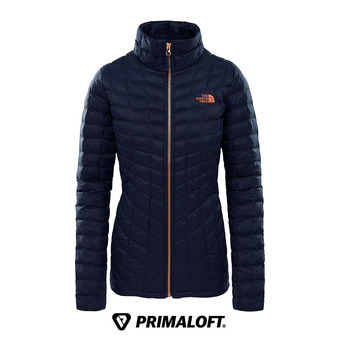 Anorak mujer THERMOBALL™ urban navy/metallic copper