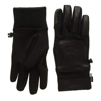 Guantes ETIP LEATHER tnf black