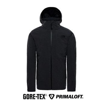 Veste à capuche GTX® Primaloft® homme APEX FLEX tnf dark grey heather