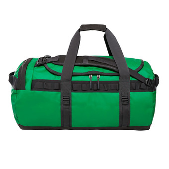 The North Face BASE CAMP 71L - Bolsa de viaje primary green/asphalt grey