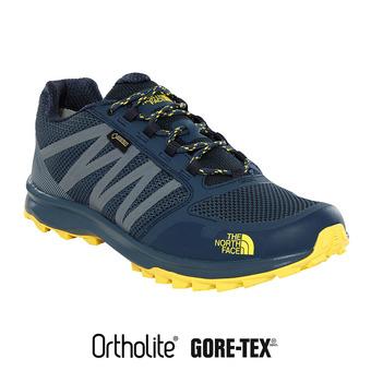 Zapatillas hombre Gore-Tex® hombre LITEWAVE FASTPACK ink blue/acid yellow