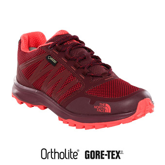 Zapatillas Gore-Tex® mujer LITEWAVE FASTPACK fig/atomic pink