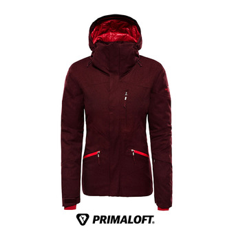 Veste à capuche Primaloft® femme LENADO fig heather