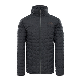 The North Face THERMOBALL - Anorak hombre tnf black/fusebox grey