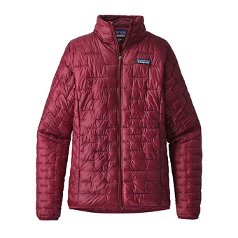 Patagonia MICRO PUFF - Piumino Donna arrow red