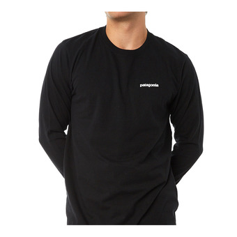 Tee-shirt ML homme P-6 LOGO RESPONSABILI-TEE black
