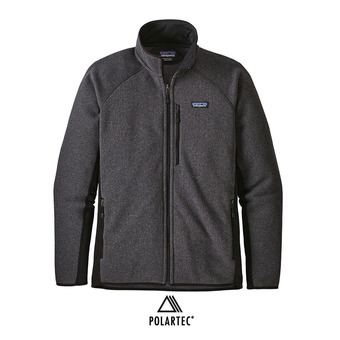 Veste polaire homme PERFORMANCE BETTER SWEATER forge grey w/nlack