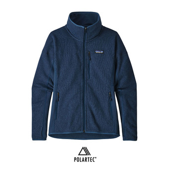 Chaqueta polar mujer PERFORMANCE BETTER SWEATER stone blue