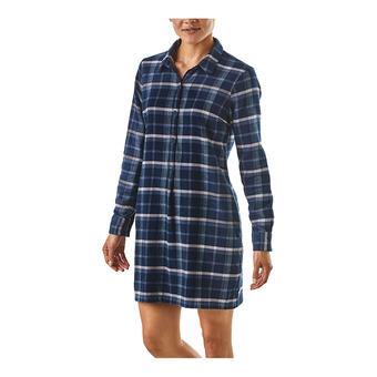 W's Fjord Dress Femme Rebel: Stone Blue