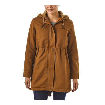 Patagonia INSULATED PRAIRIE DAWN - Chaqueta mujer bence brown