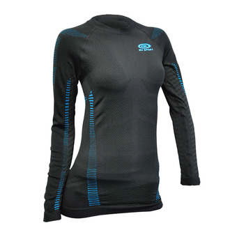 Bv Sport RTECH - Camiseta mujer black/blue